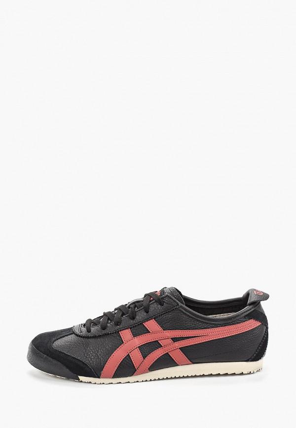 женские кроссовки onitsuka tiger, черные