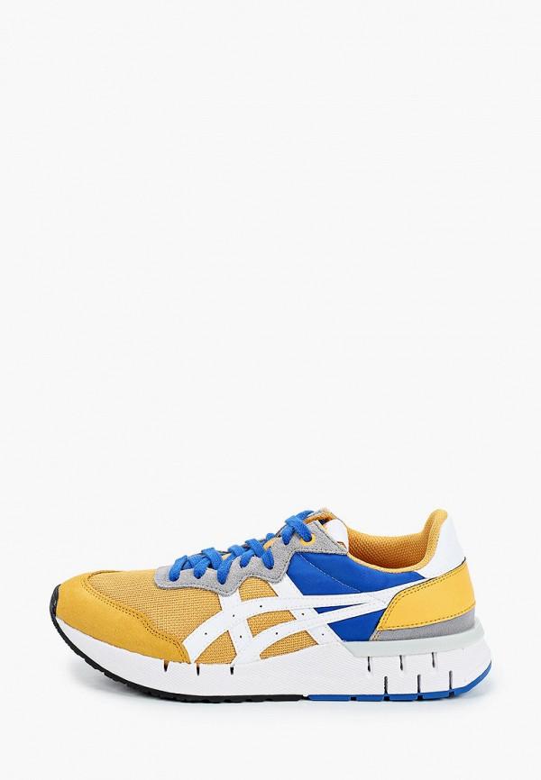 женские кроссовки onitsuka tiger, желтые
