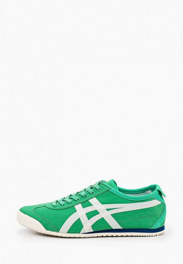 женские кроссовки onitsuka tiger, зеленые