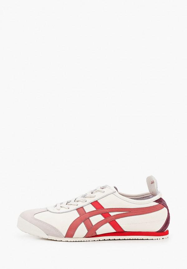 женские кроссовки onitsuka tiger, бежевые