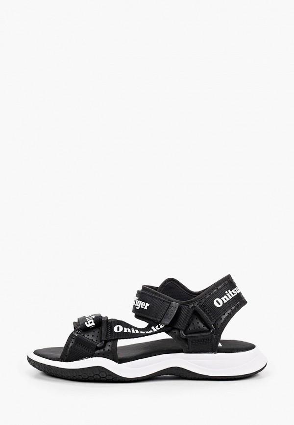 женские сандалии onitsuka tiger, черные