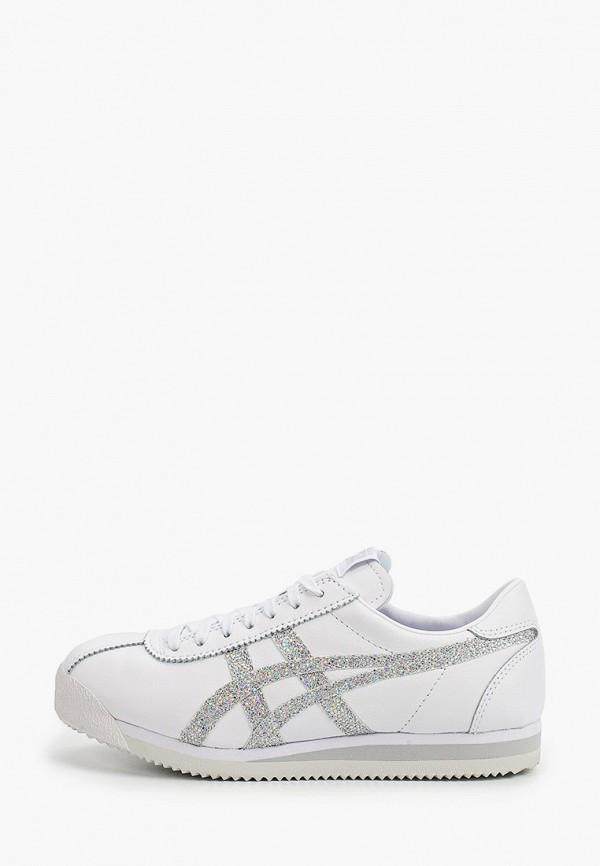 женские низкие кроссовки onitsuka tiger, белые