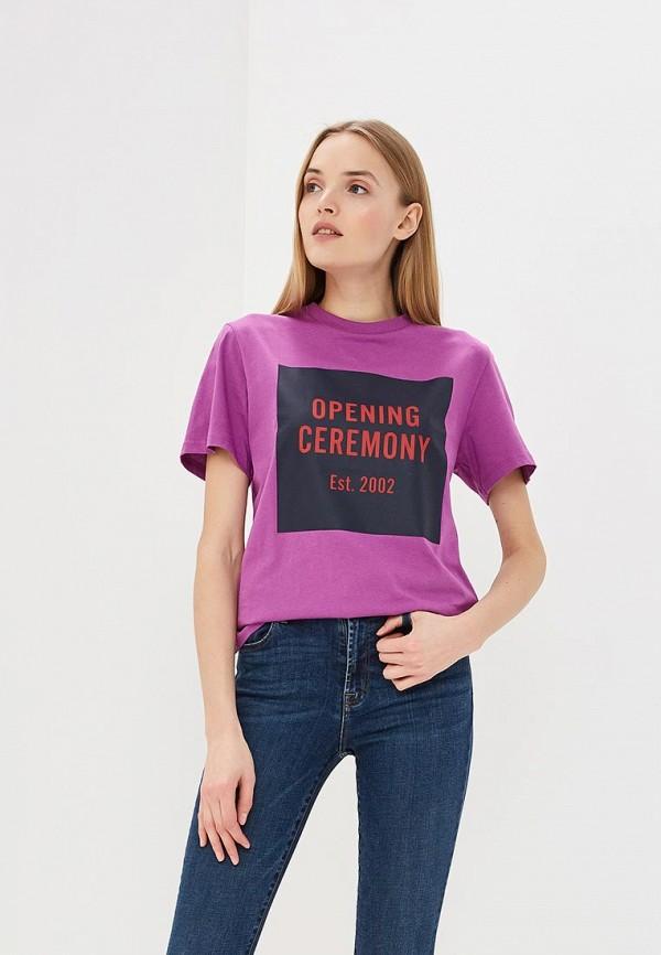 Футболка Opening Ceremony Opening Ceremony OP004EWEKYX3 футболка opening ceremony opening ceremony op004ewbpdj6