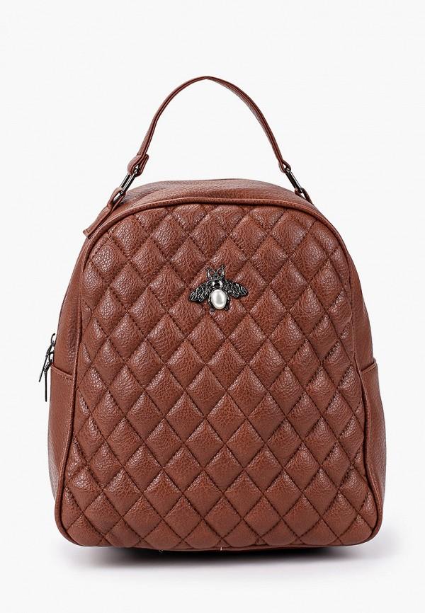 женский рюкзак ors oro, коричневый