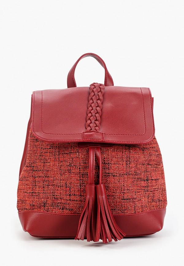 женский рюкзак ors oro, красный