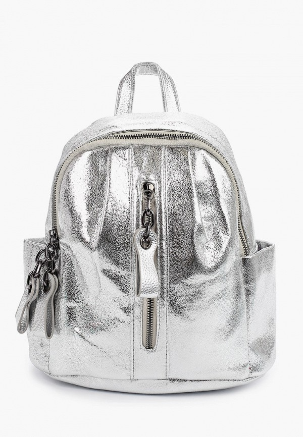 женский рюкзак ors oro, серебряный