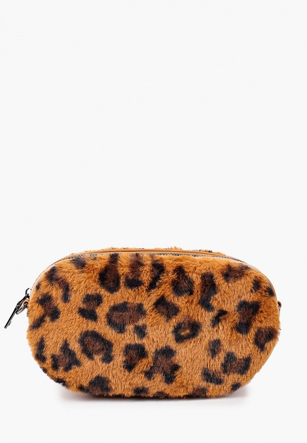 женская сумка ors oro, коричневая