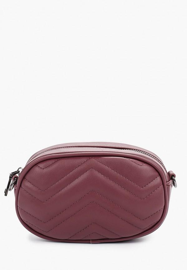 женская сумка ors oro, бордовая