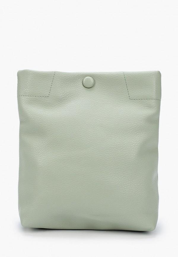 женская сумка ors oro, зеленая