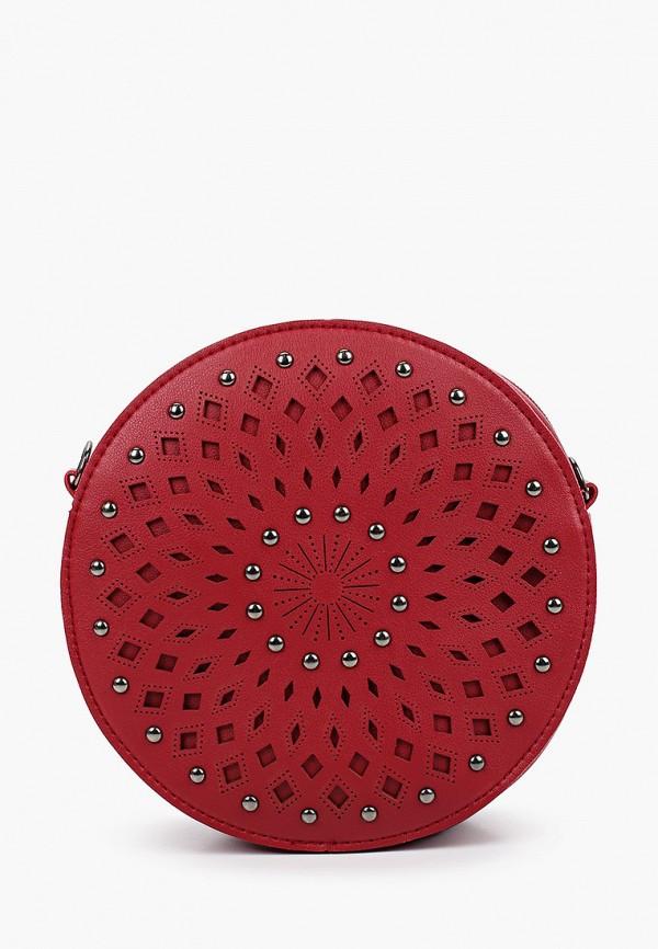 женская сумка ors oro, красная