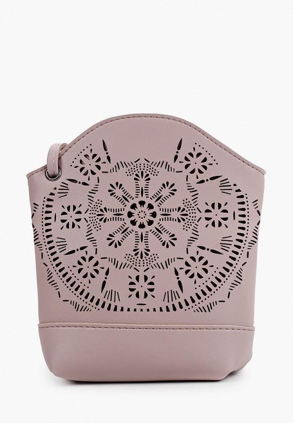 женская сумка ors oro, розовая