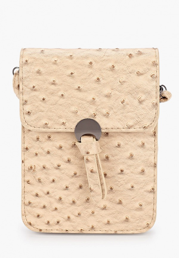женская сумка ors oro, бежевая