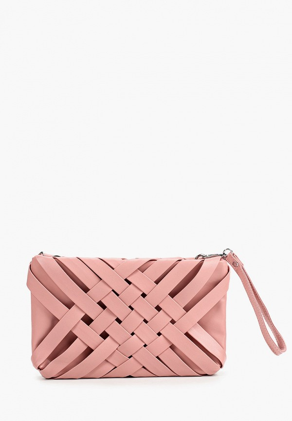 женский клатч ors oro, розовый