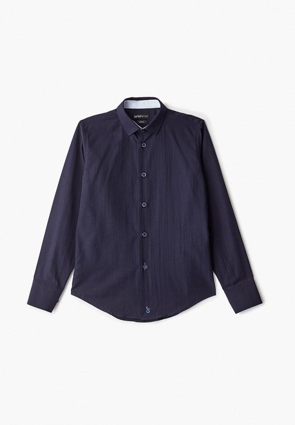рубашка orby для мальчика, синяя