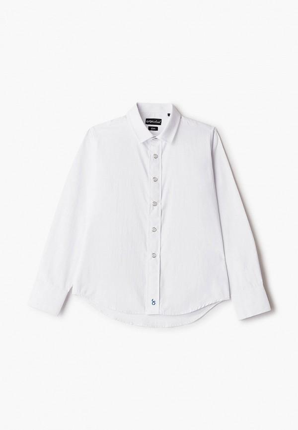 рубашка orby для мальчика, белая