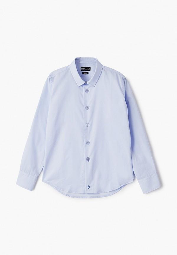 рубашка orby для мальчика, голубая