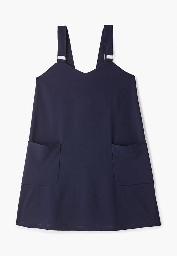 Фото - Платье или сарафан для девочки Orby синего цвета