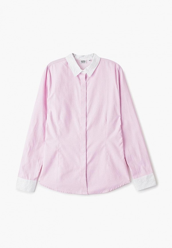 блузка orby для девочки, розовая