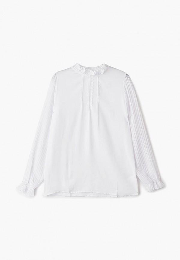 блузка orby для девочки, белая
