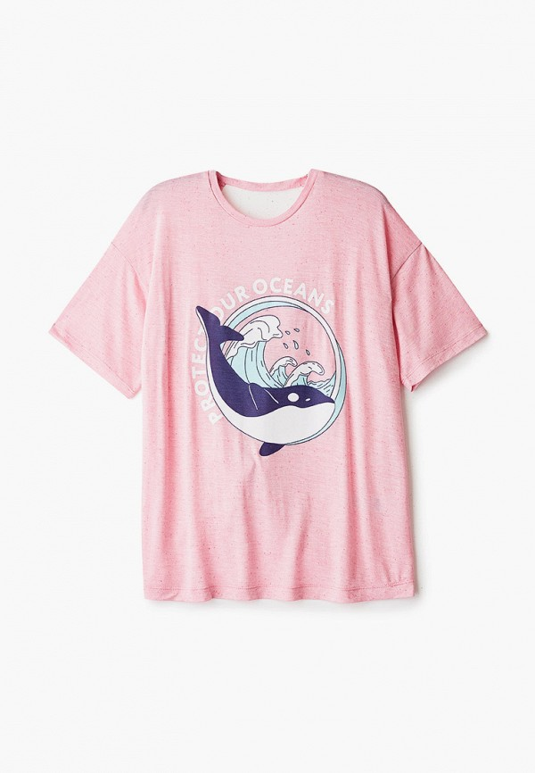 футболка с коротким рукавом orby для девочки, розовая