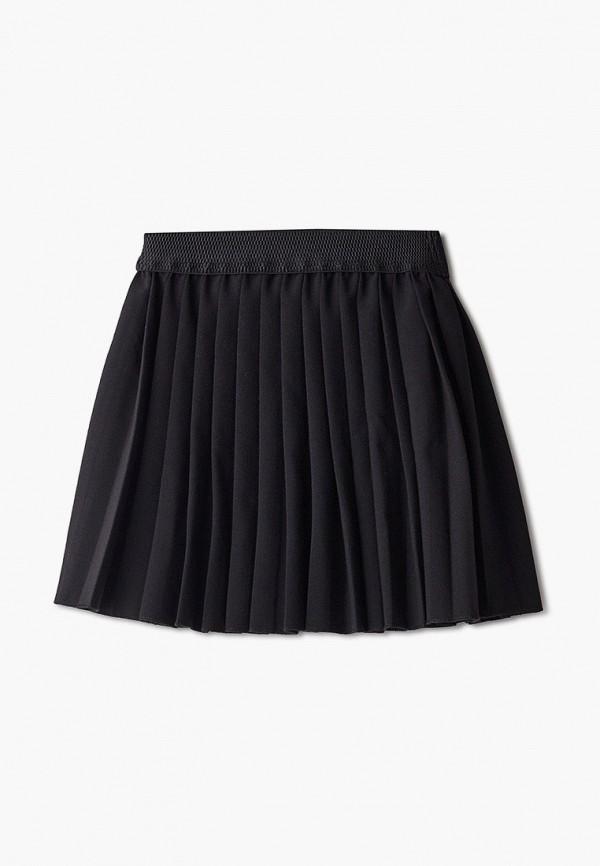 юбка orby для девочки, черная