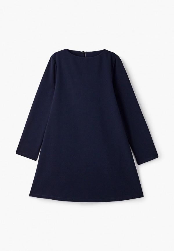 повседневные платье orby для девочки, синее