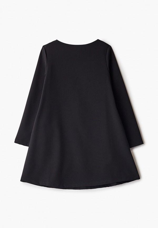 повседневные платье orby для девочки, черное
