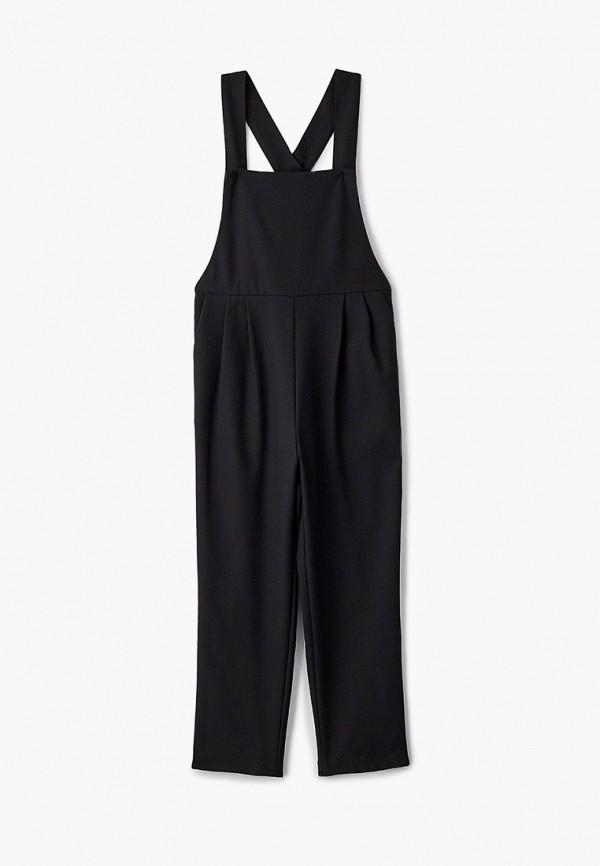 комбинезон с брюками orby для девочки, черный
