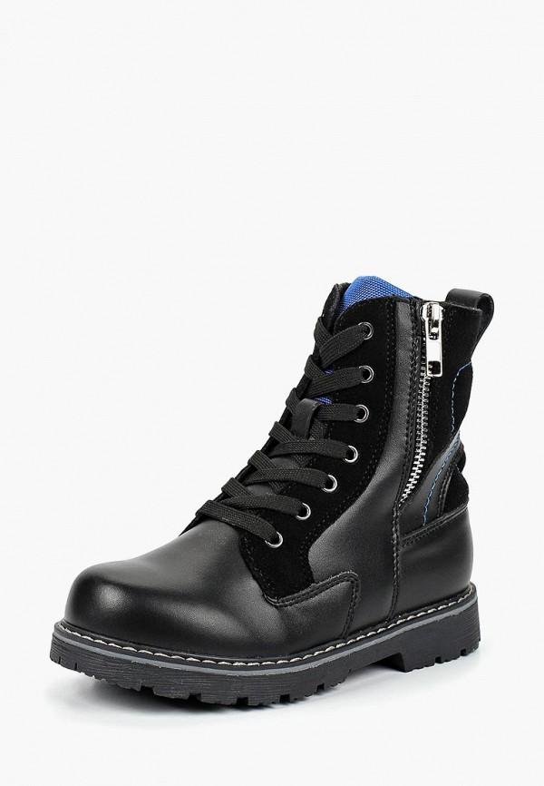 ботинки orthoboom для мальчика, черные
