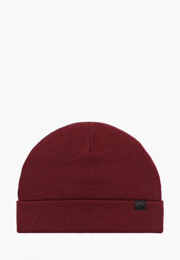мужская шапка o'stin, бордовая