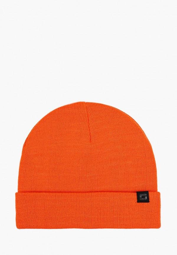 мужская шапка o'stin, оранжевая