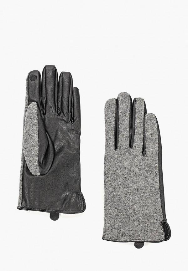женские перчатки o'stin, серые