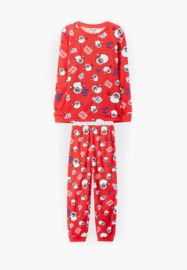 пижама o'stin для мальчика, красная
