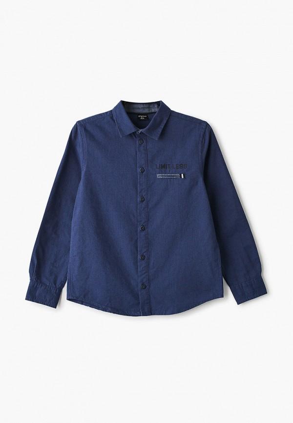 рубашка o'stin для мальчика, синяя