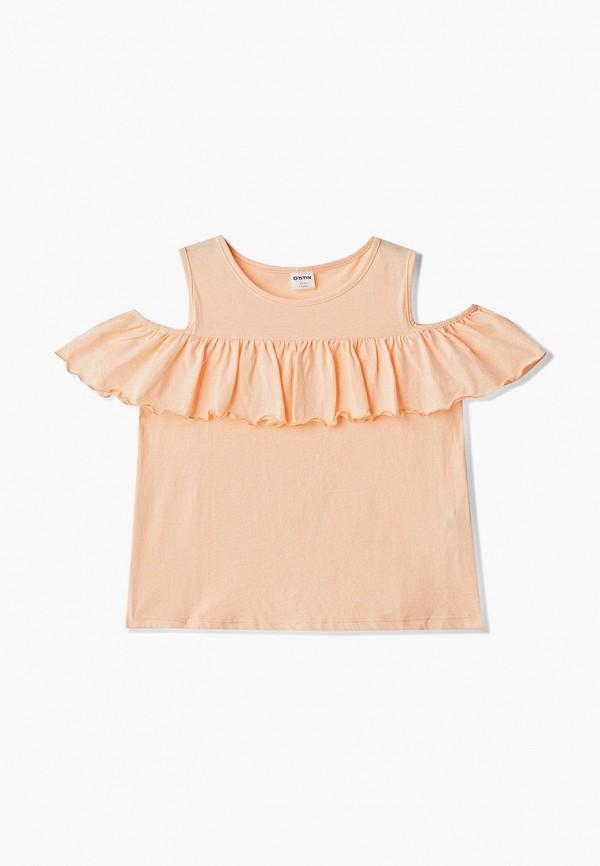 блузка o'stin для девочки, оранжевая