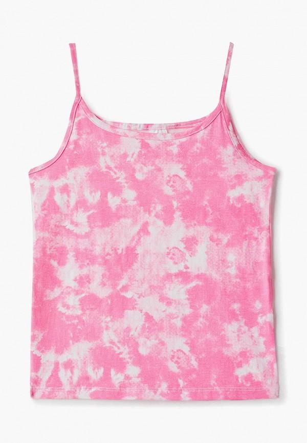 майка o'stin для девочки, розовая