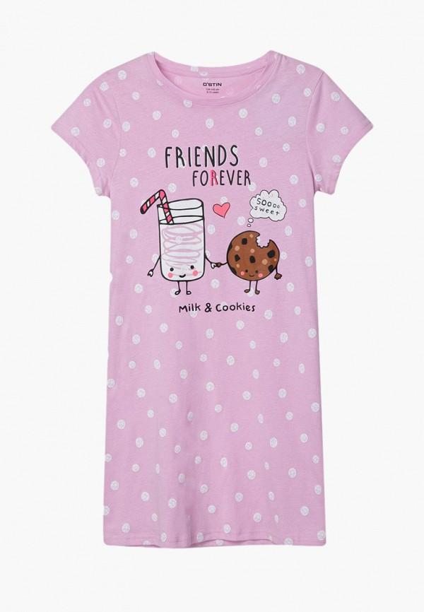 пижама o'stin для девочки, розовая