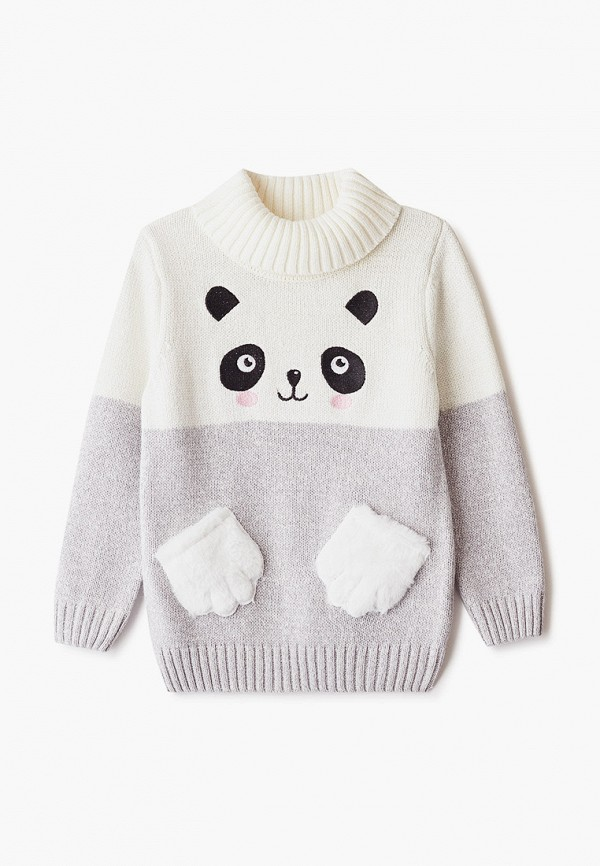 свитер o'stin для девочки, белый