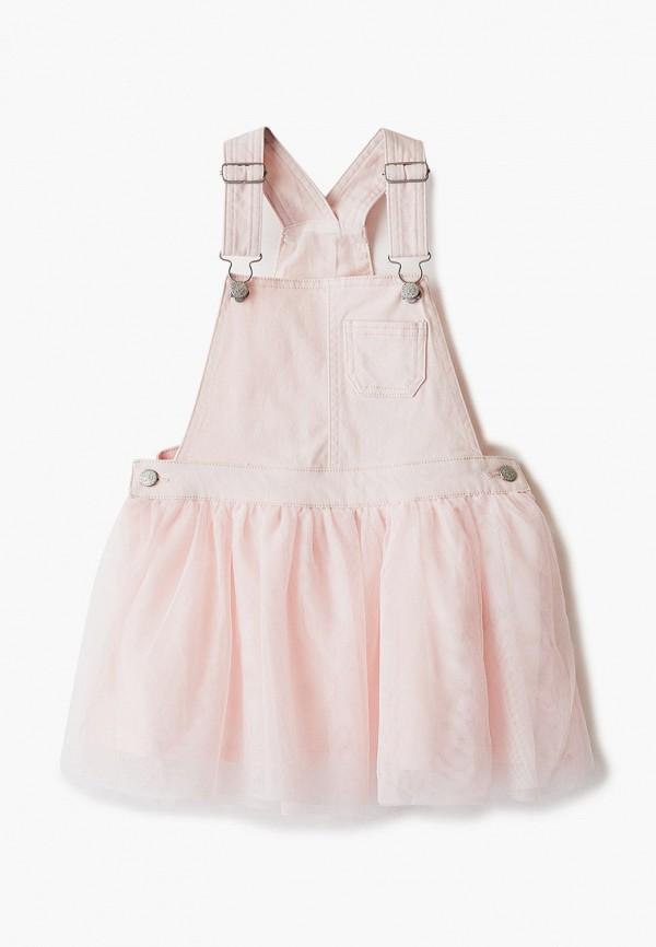 сарафан o'stin для девочки, розовый