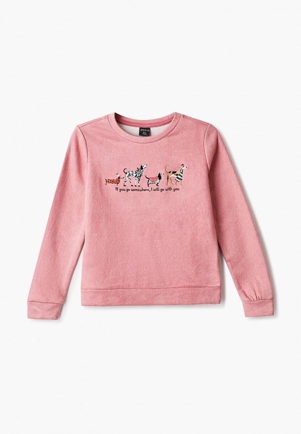 свитшот o'stin для девочки, розовый