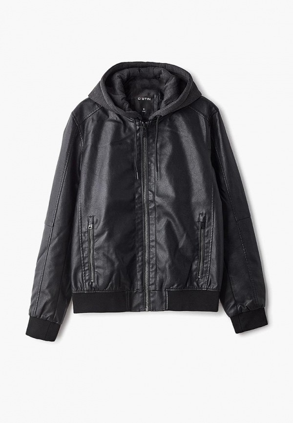 Куртка кожаная O'stin O'stin OS004EMEUZI8