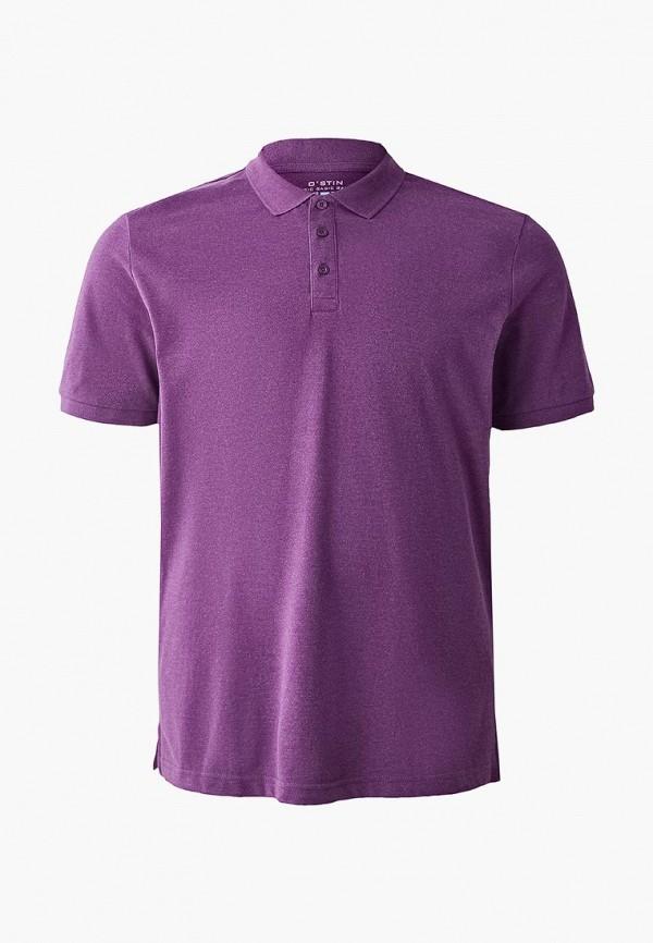 мужское поло o'stin, фиолетовое