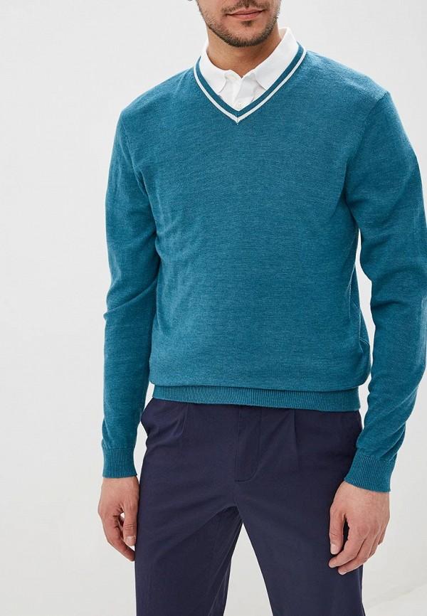 мужской пуловер o'stin, бирюзовый