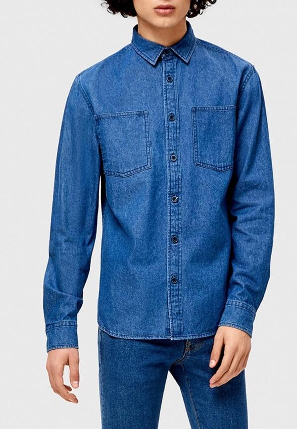 Рубашка джинсовая O'stin O'stin OS004EMGEOE5 fu shen virtue основной цвет тяжелой воды мыть чистого хлопка тонкая джинсовая рубашка мужской ycf71013 синий 42 175 100