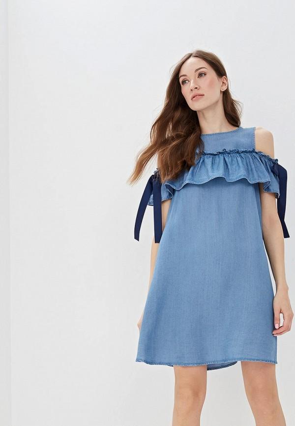 цена Платье джинсовое O'stin O'stin OS004EWFFND8 онлайн в 2017 году