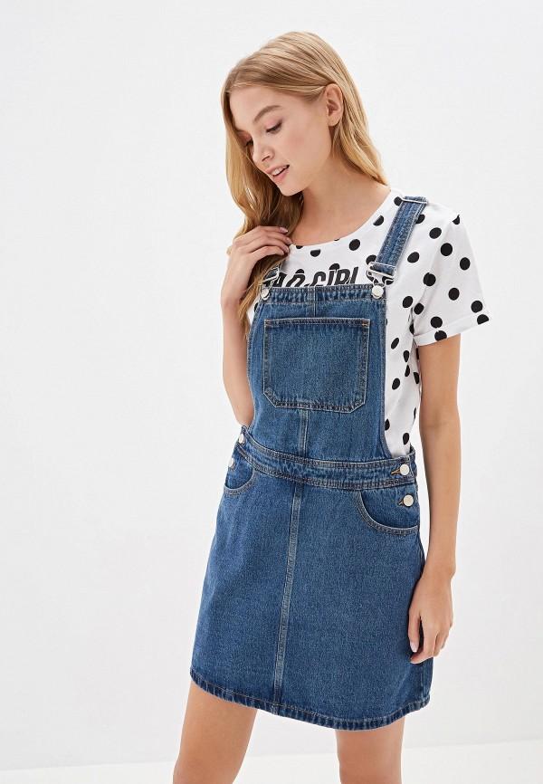 Платье джинсовое O'stin O'stin OS004EWGCAA5 платье джинсовое d