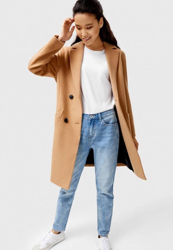 женское пальто o'stin, бежевое