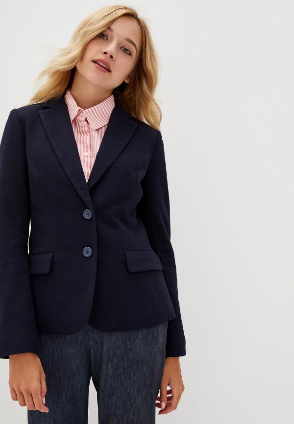 женский пиджак o'stin, синий