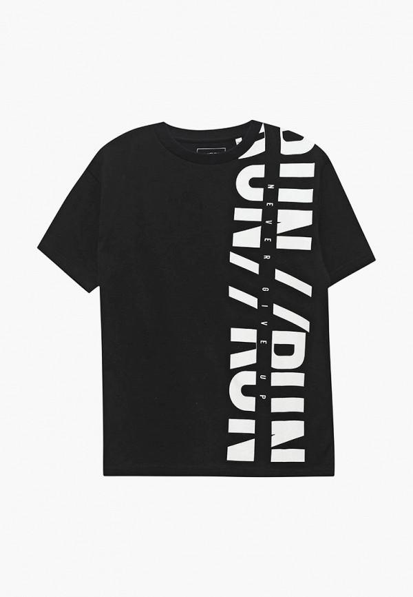 Купить Футболка Outfit Kids, ou003ebbqvf4, черный, Весна-лето 2018