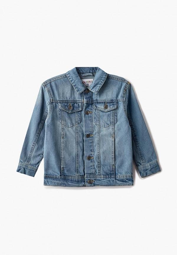 Фото - Куртку джинсовая Outfit Kids синего цвета